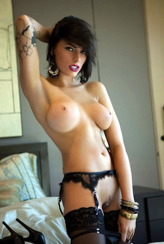 Jiggly massive tits